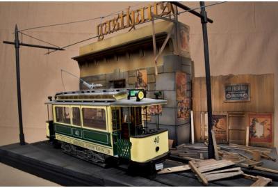 Berlin Tram Diorama