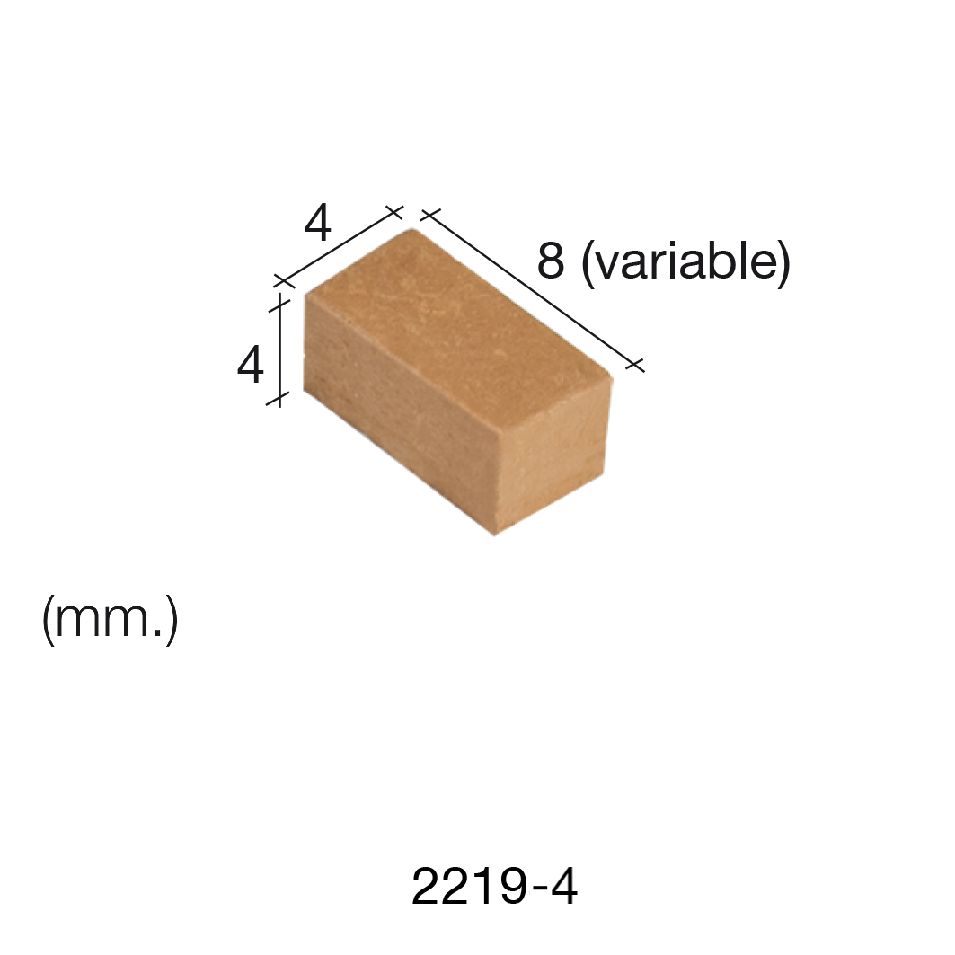 Aedes Ars Red Wall Stone 4 x 8 x 4 (Pack of 500 Stones)