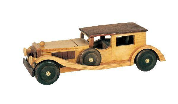 Wooden Mercedes Saloon - Plan