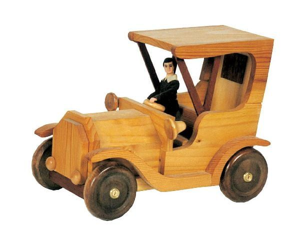 Wooden T Ford - Plan