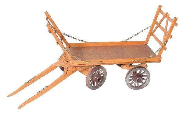 Model Hay Cart Plan - Easy To Build Plan