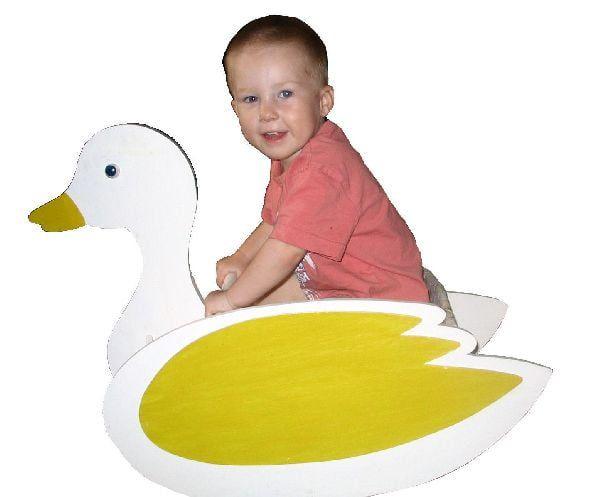 Toy Rocking Duck