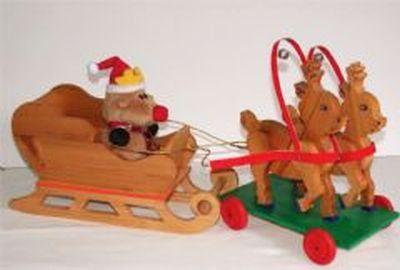 Reindeer and Sleigh
