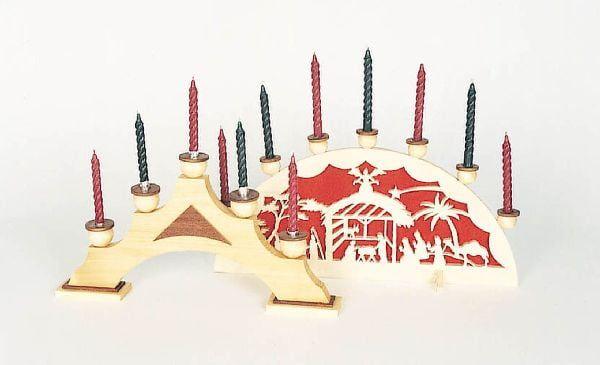 Ornamental Candle Holders.
