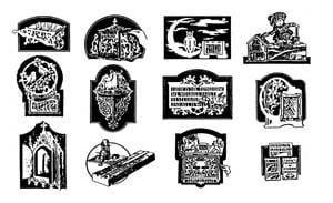 12 Fretwork Design Plans