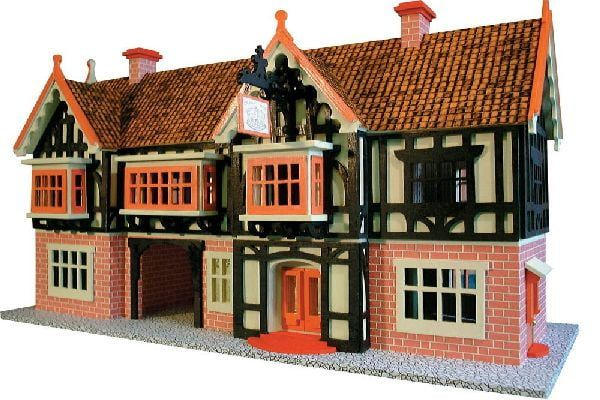 Country Inn 24th Scale Dolls House Plan