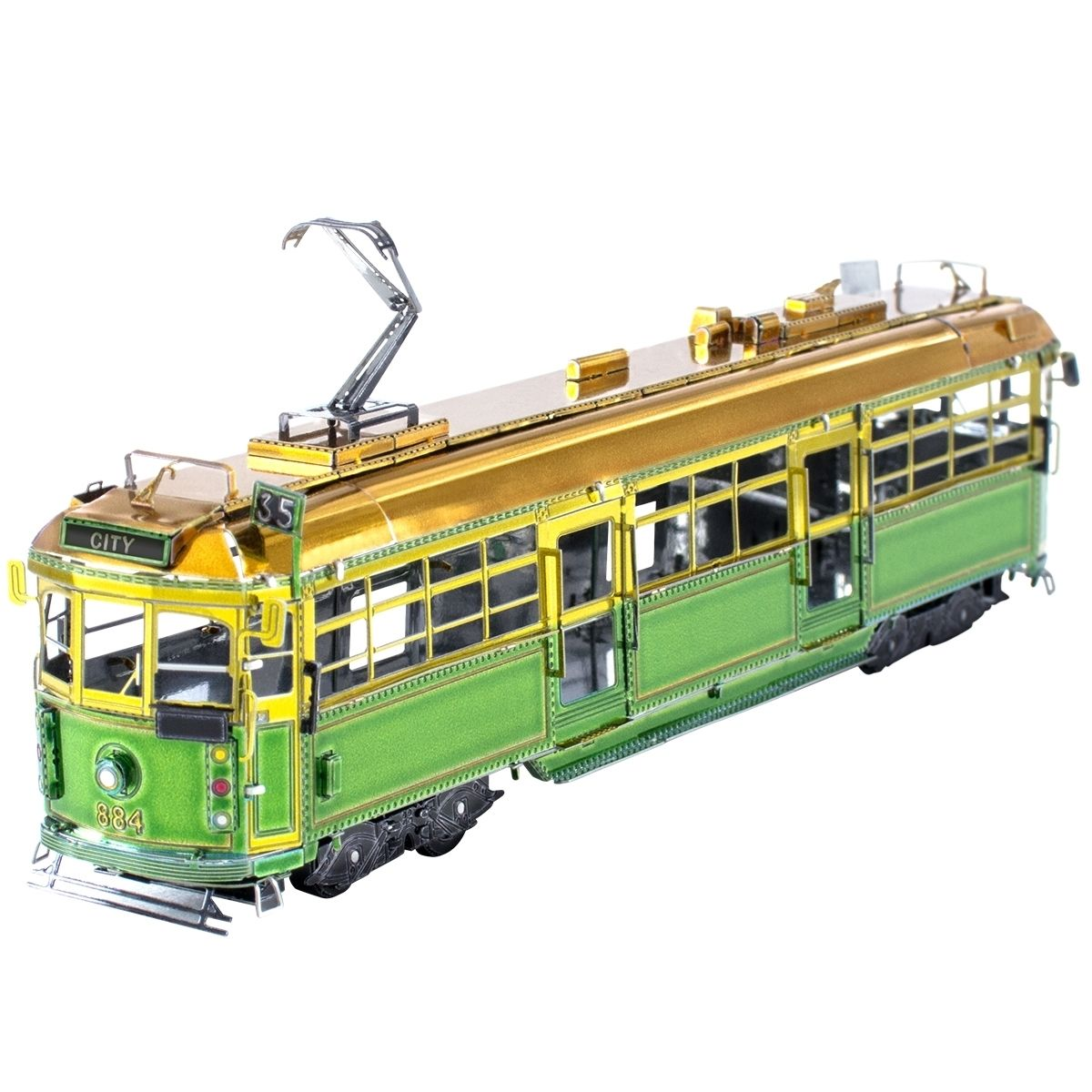 Metal Earth Melbourne W-Class Tram Kit