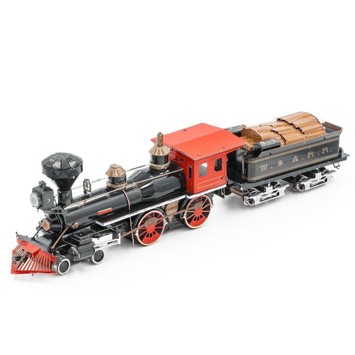 Metal Earth 4-4-0 Locomotive Kit
