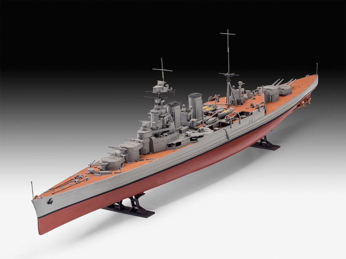 Revell HMS Hood 100th Anniversary Gift Set