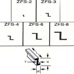Plastruct Z Section