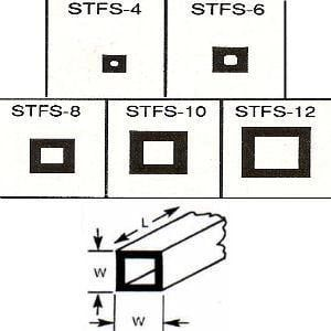 Plastruct Box Section