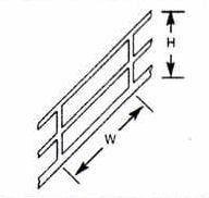 Plastruct Stair Rails