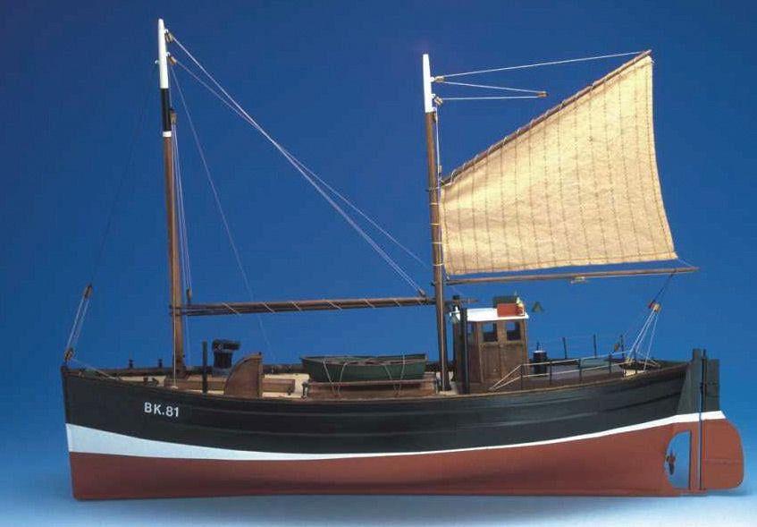 Caldercraft Fifie Amaranth Model Boat Kit