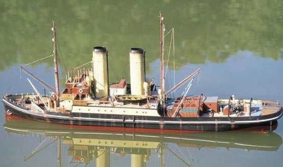 Caldercraft Resolve Naval Tug Kit