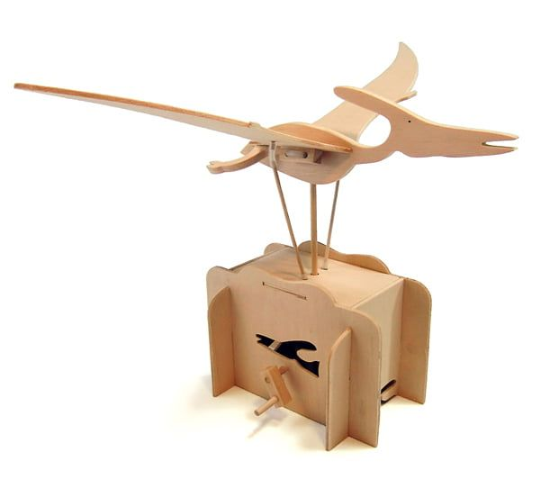 Pathfinders Build Your Own Flying Pteranodon Automata Wooden Kit
