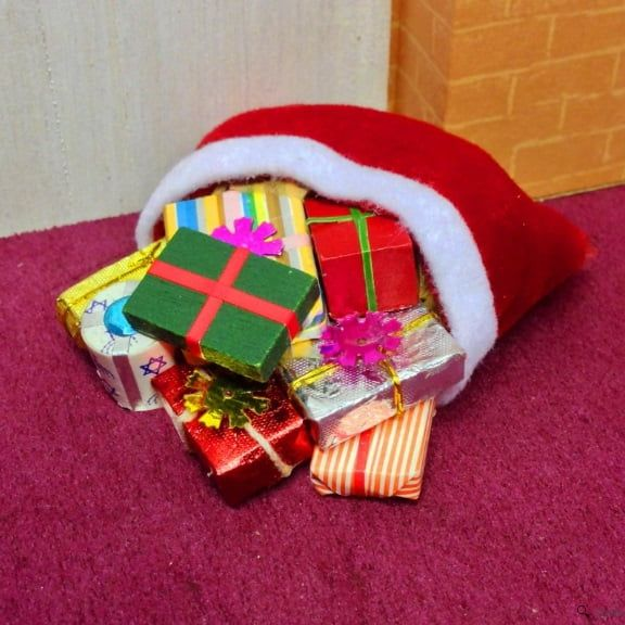 12th Scale Sack of Christmas Presents