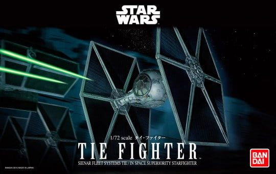 Revell TIE Fighter 72nd Scale