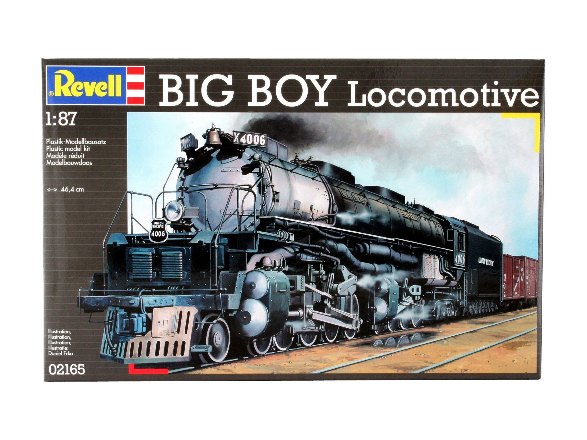 Revell Big Boy Locomotive Plastic Model Kit