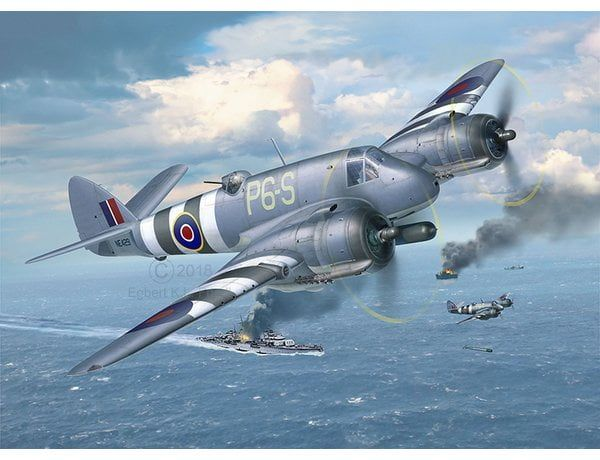 Revell Bristol Beaufighter Plastic Model Aircraft Kit