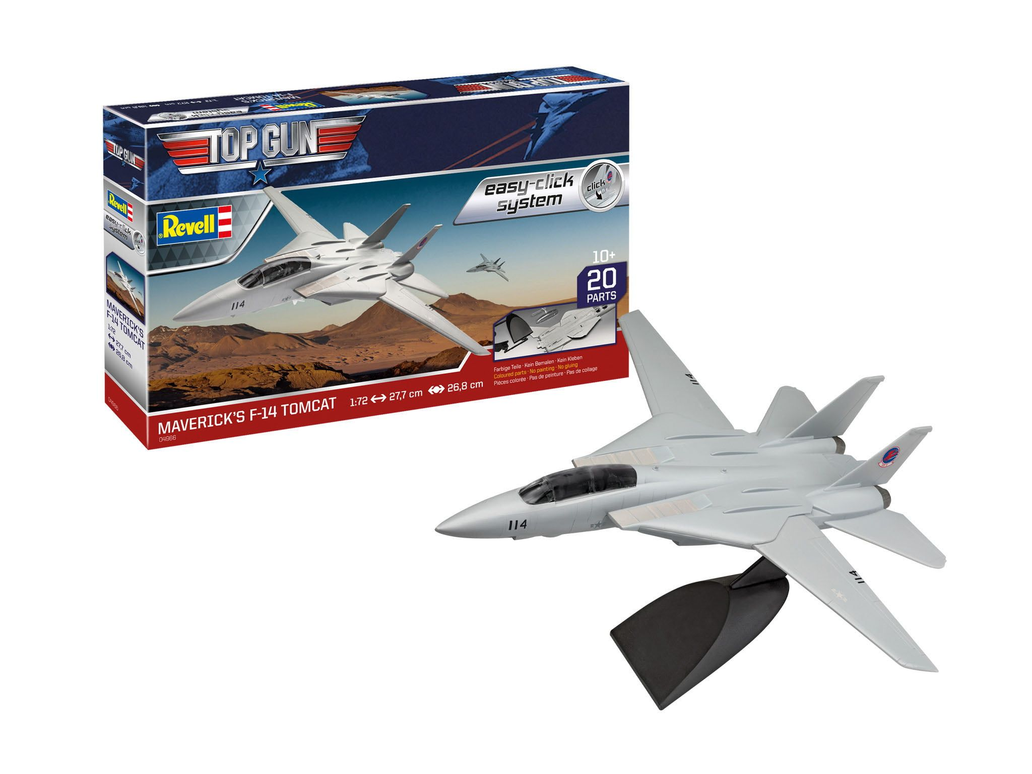 Revell Top Gun Mavericks F-14 Tomcat