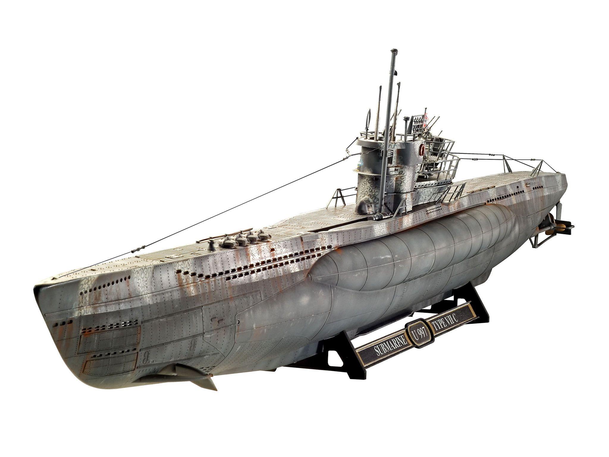 Revell German Submarine Type VII C41 Kit