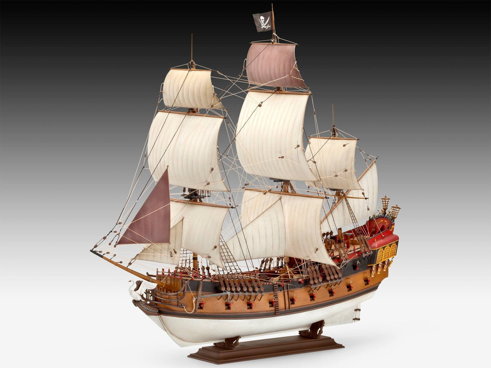Revell Pirate Ship 1:72 Scale Detailed Plastic Model Kit