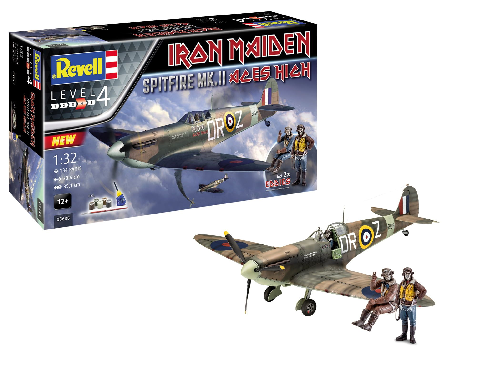 Revell Iron Maiden Spitfire Mk.II Aces High