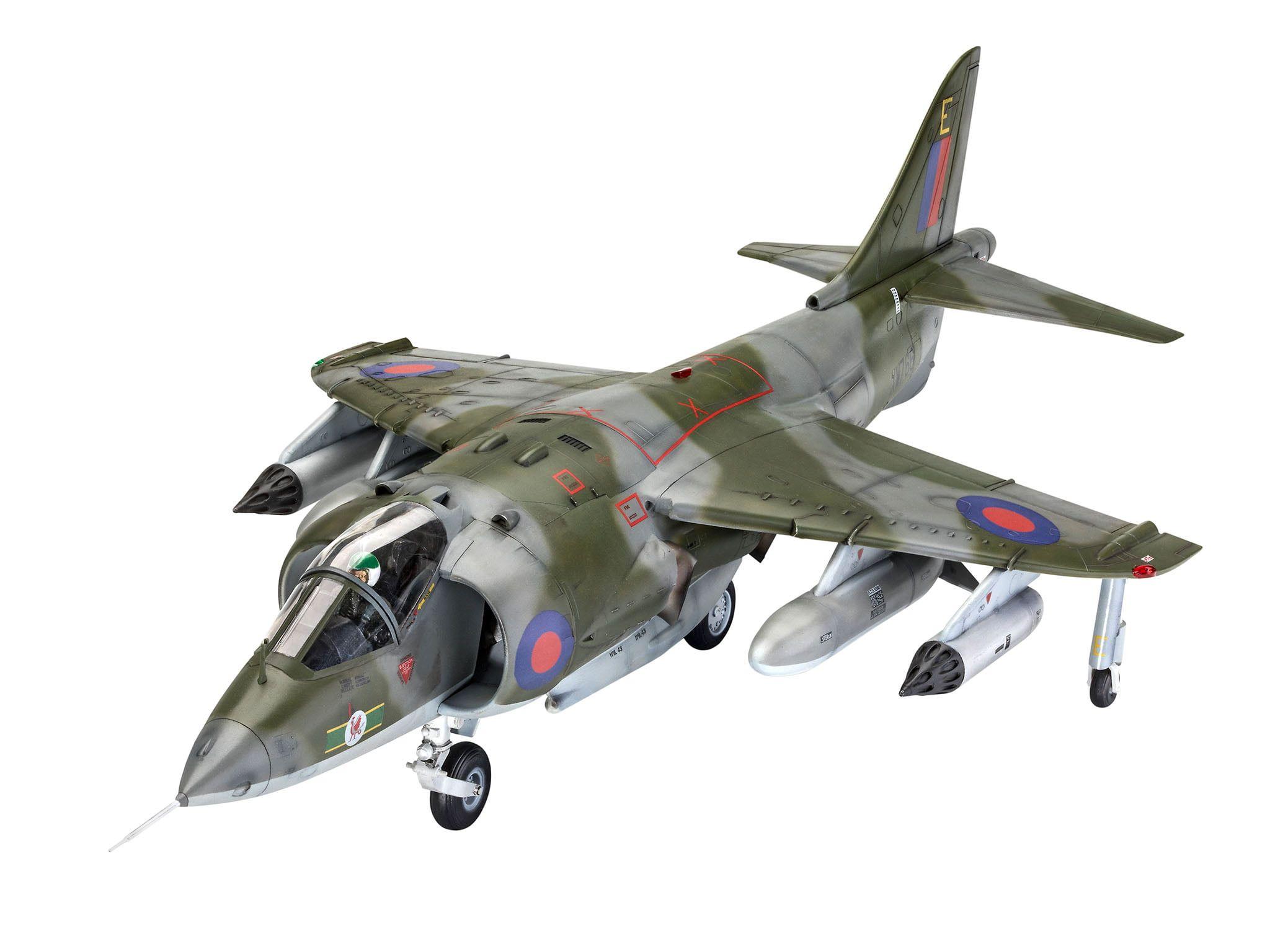 Revell Harrier GR.1 Gift Set