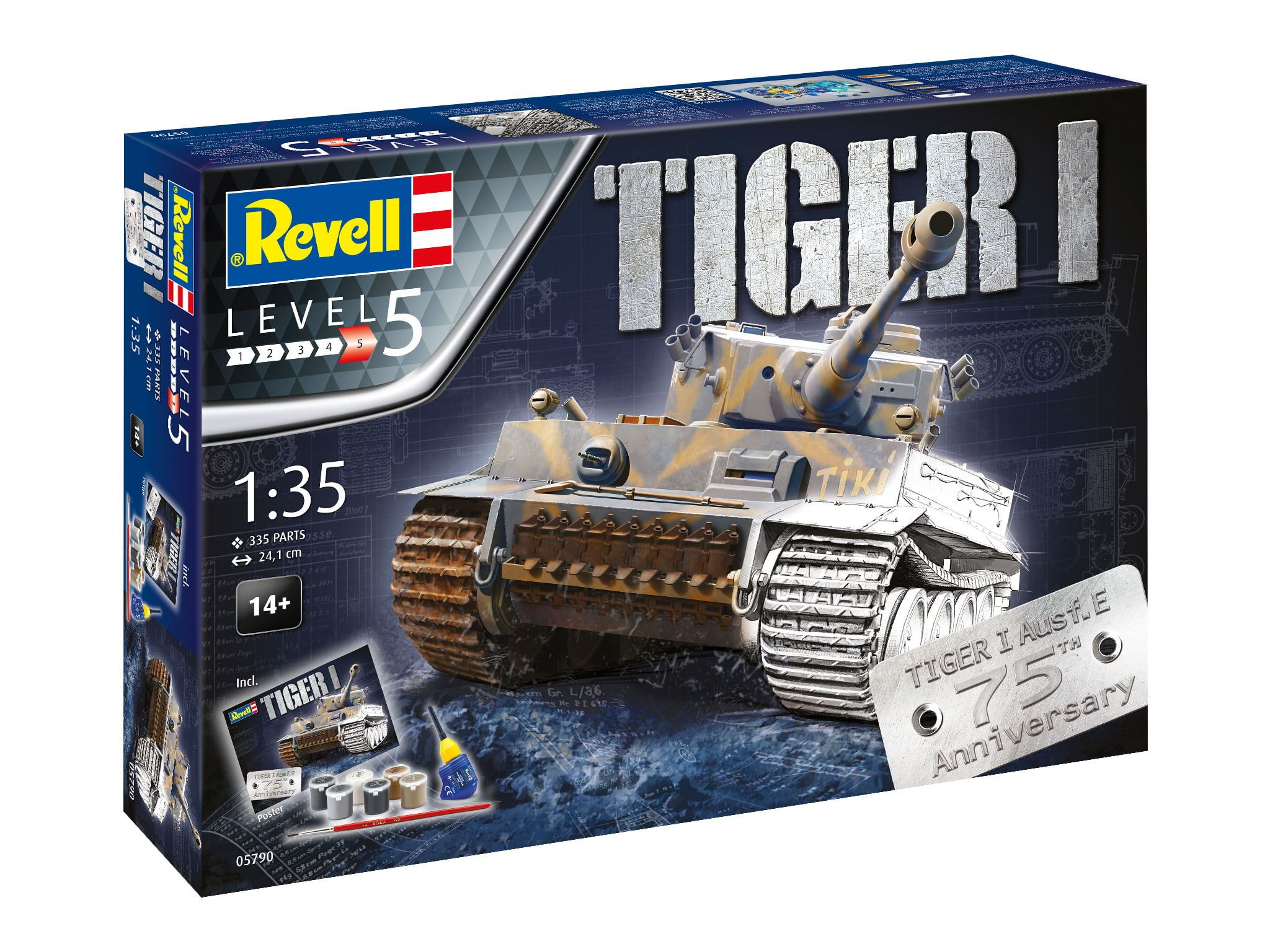 Revell Tiger 1 Gift Set