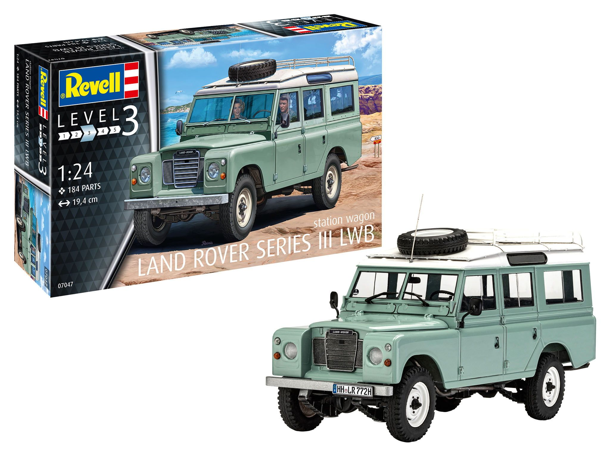 Revell 1:24 Scale Land Rover Series III