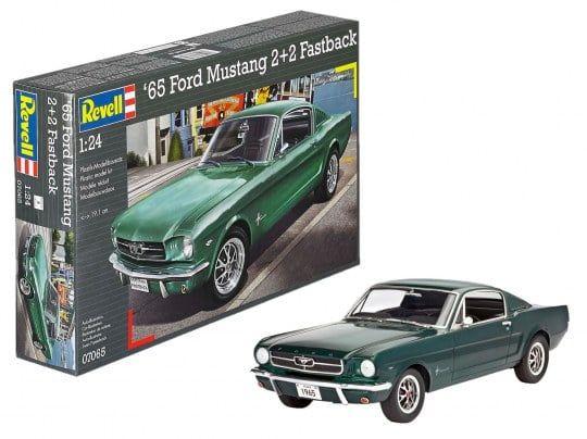 Revell 1965 Ford Mustang 2+2 Fastback