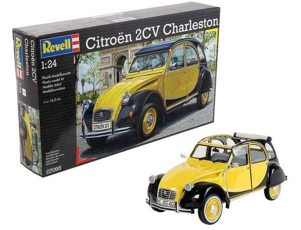 Revell 1/24 Scale Citroen 2CV Charleston