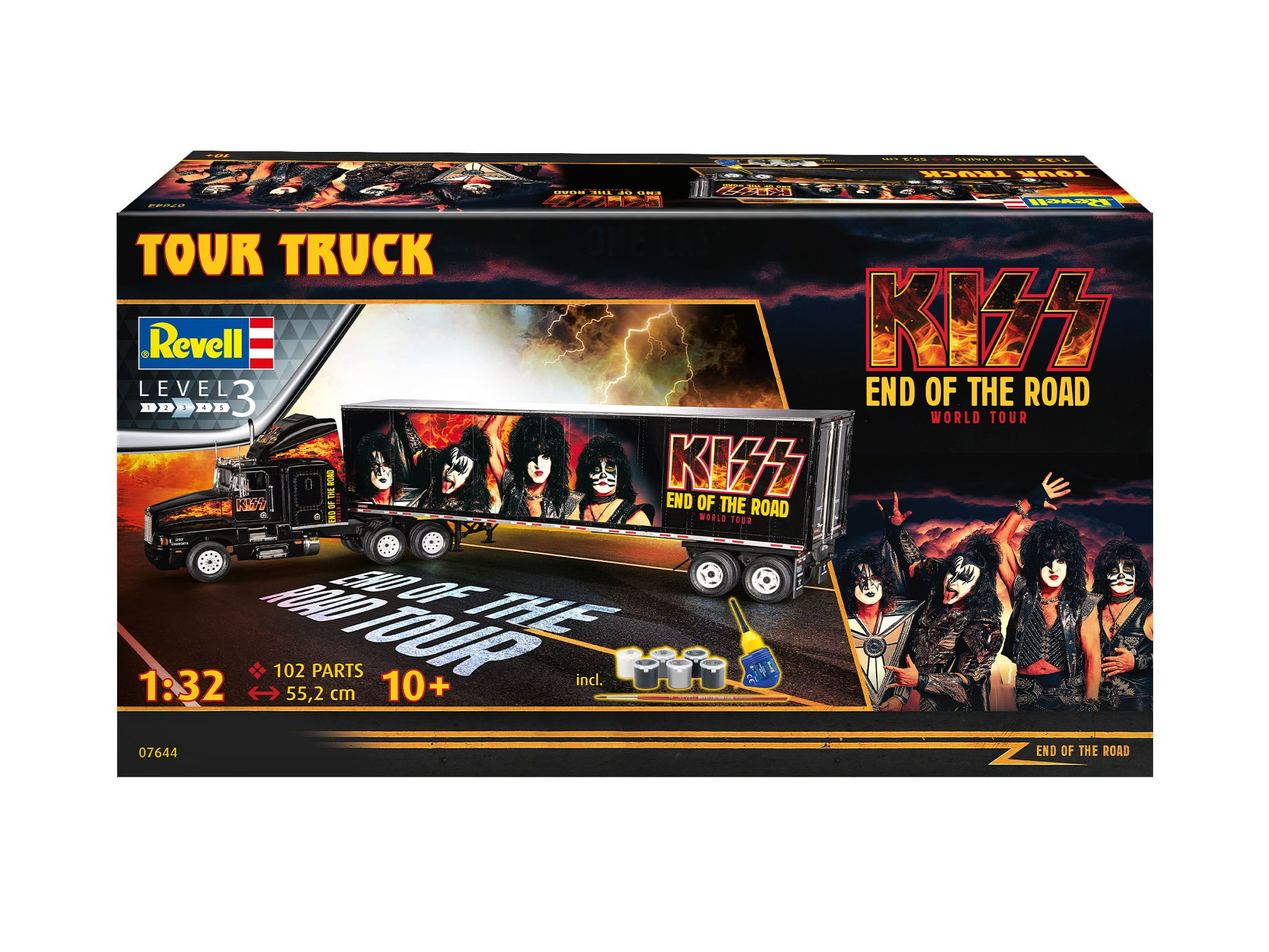 Revell Kiss End Of The Road Tour Truck