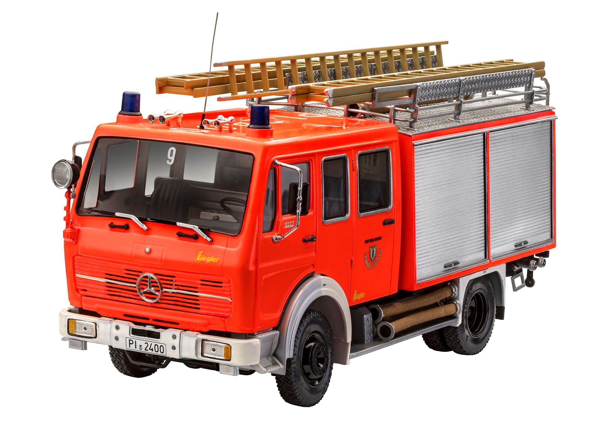 Revell Mercedes-Benz 1017 LF 16 Fire Truck