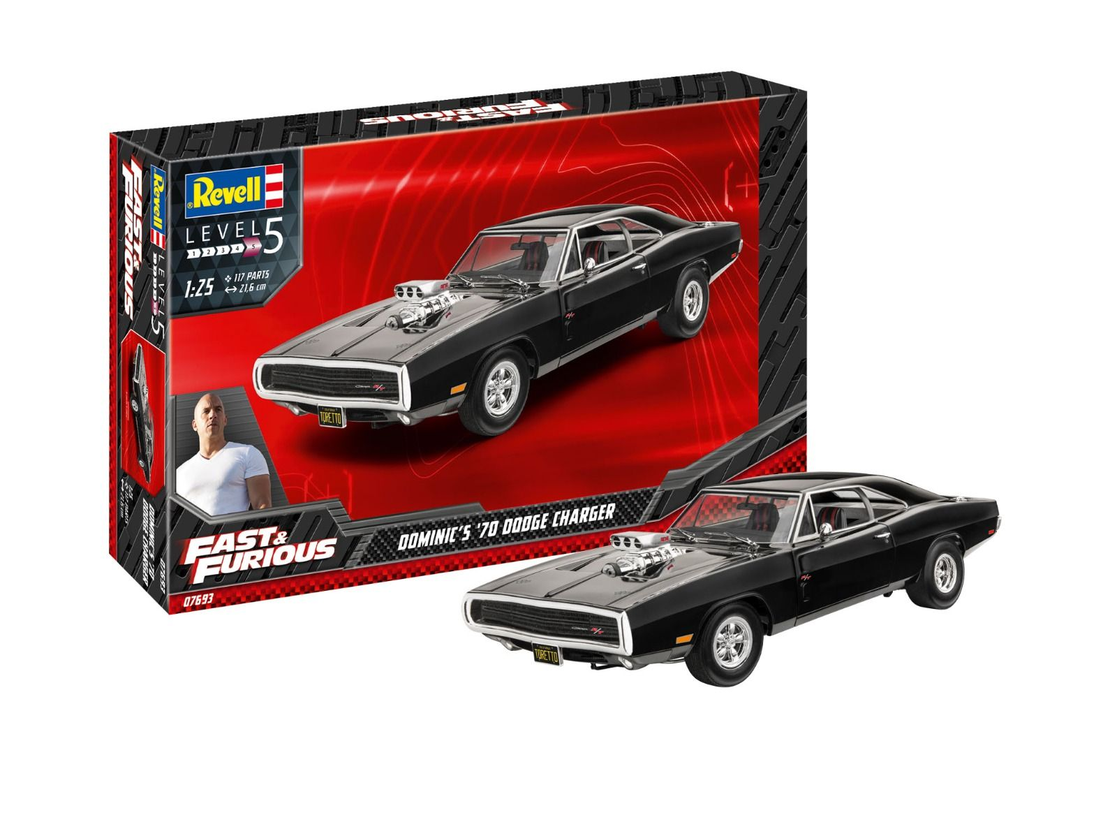 Revell Fast & Furious - Dominics 1970 Dodge Charger