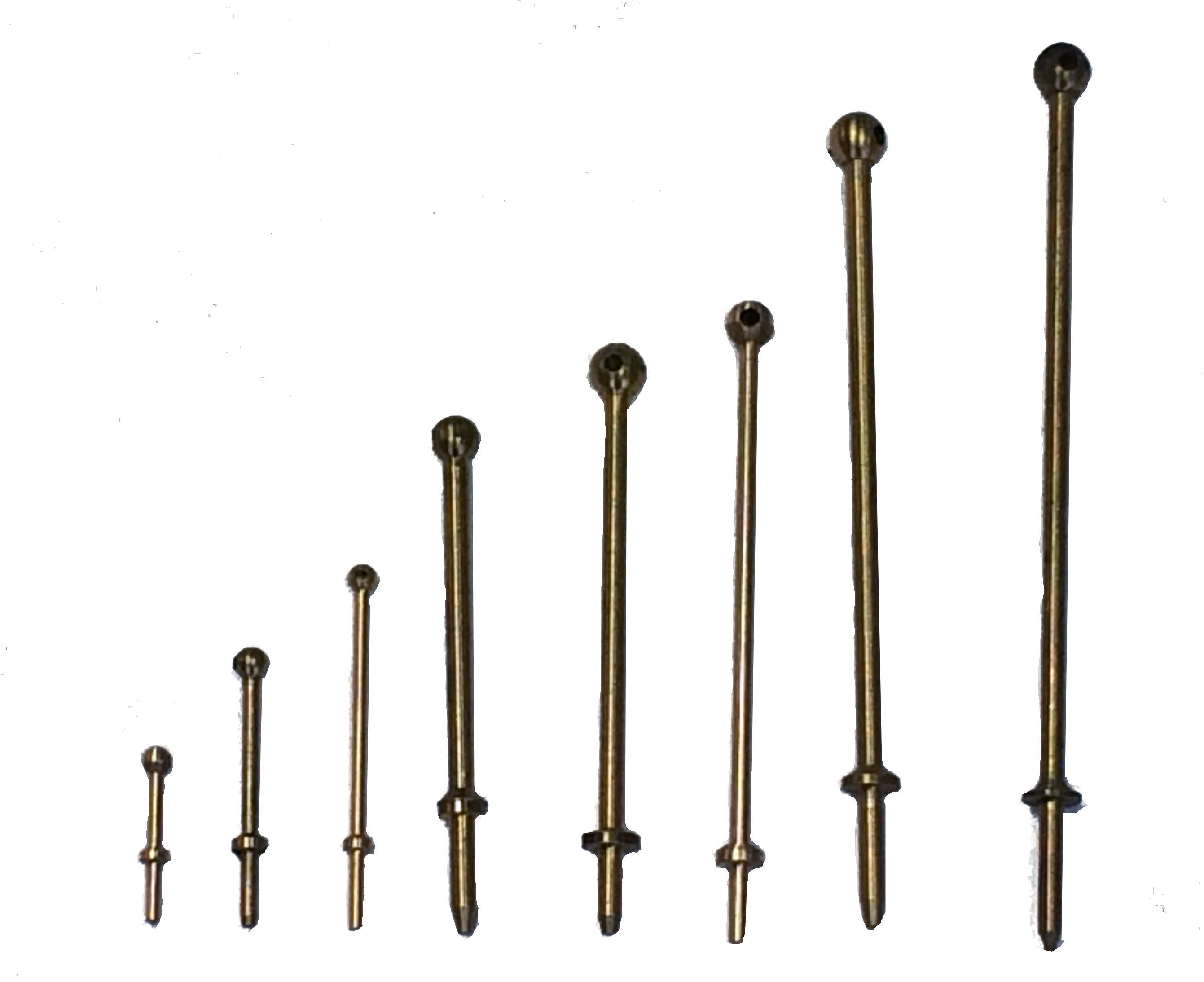 Caldercraft 1 Hole Brass Stanchions
