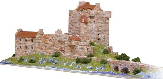 Aedes Ars Eilean Donan Castle Architectural Model Kit