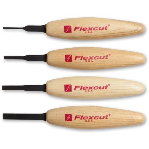 Flexcut Micro Chisel MT100 Tool Set
