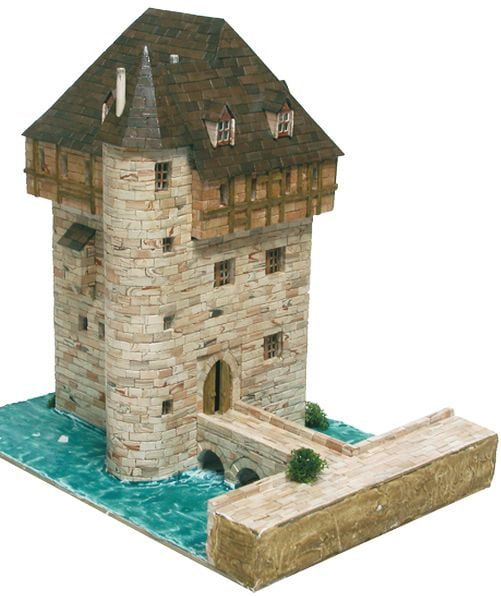 Aedes Ars Belgian Crupet Castle Model Brick Kit