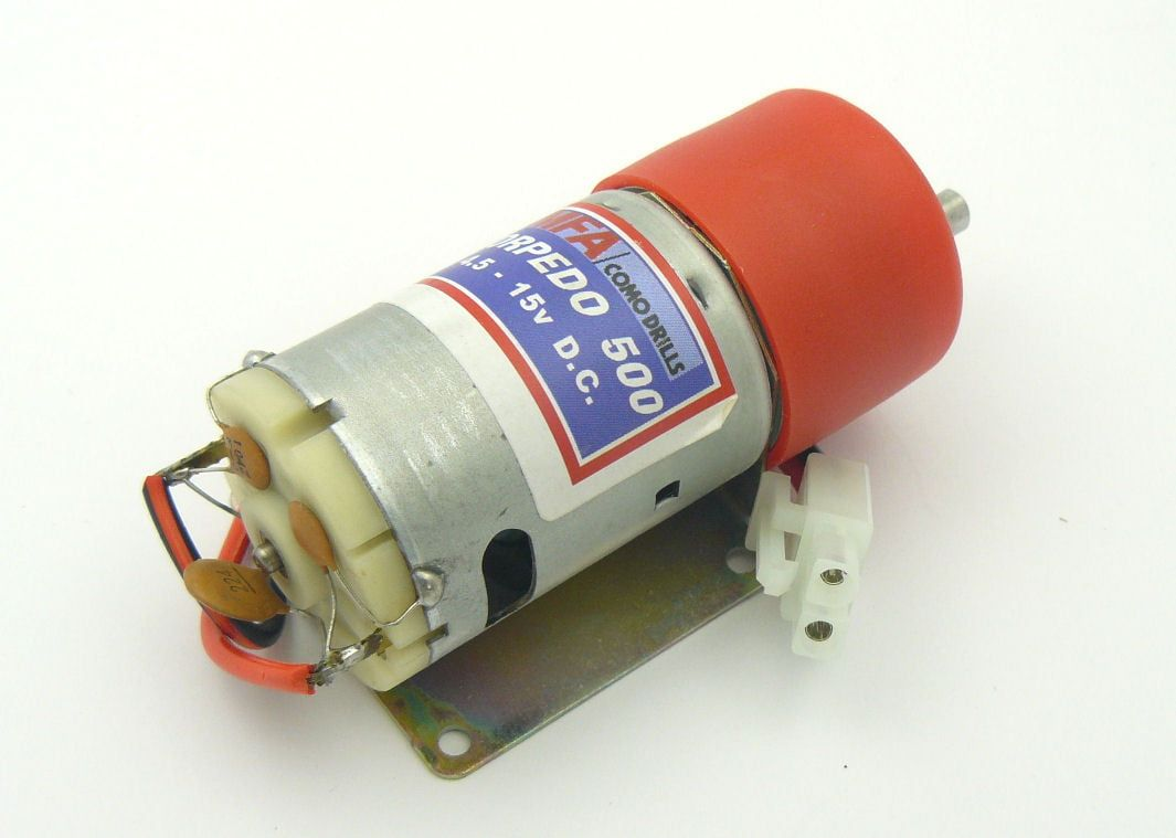 Torpedo 500 Motors With Gearbox Range - 500 Motor Ratio 810:1