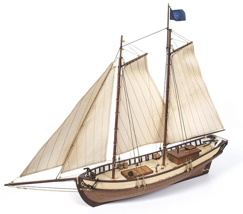 Occre Polaris 1:50 Scale Model Ship Kit