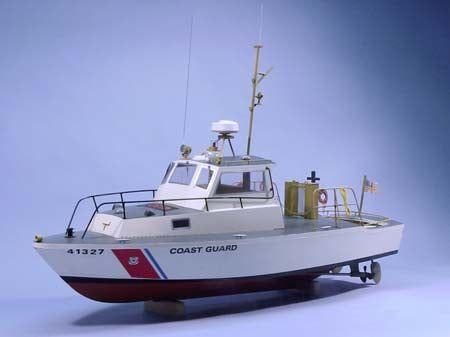 Dumas U.S. Coast Guard 41' Utility Boat 16th Scale with New 'V' Bottom Model Boat