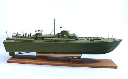 Dumas Boats PT-109 US Navy Torpedo Boat Kit - Dumas Pt-109 Running Pack