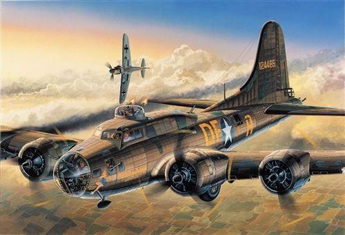 Academy 1/72 B-17F Flying Fortress 'Memphis Belle' Plastic Model Kit