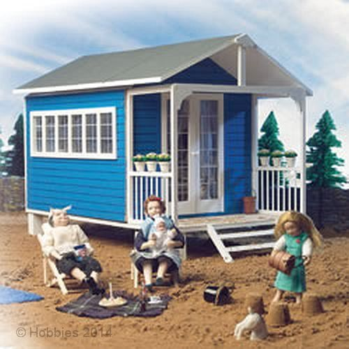 The Summer House Kit 1:12 Scale by Dolls House Emporium