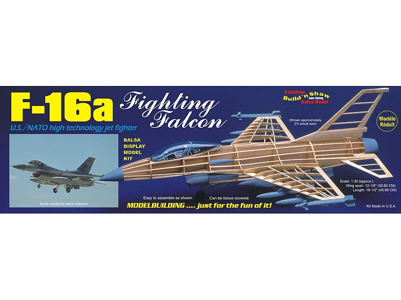 Guillows F-16a Fighting Falcon Kit