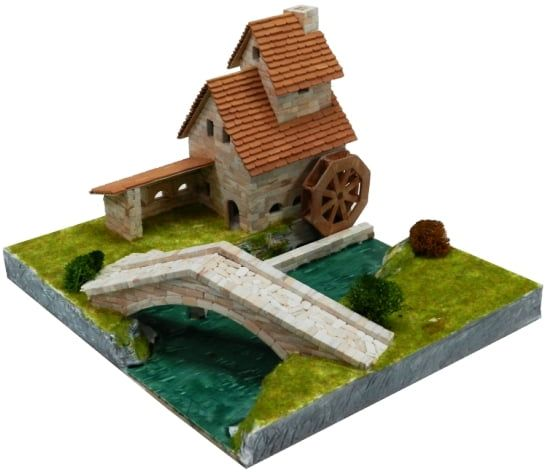 Aedes Ars Forge with Bridge Architectural Model Kit