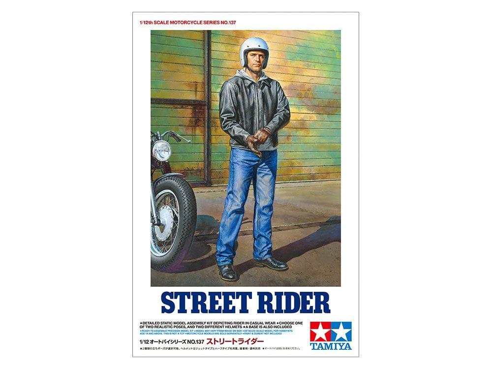 Tamiya Street Rider 12th Scale Motorcycle Figure