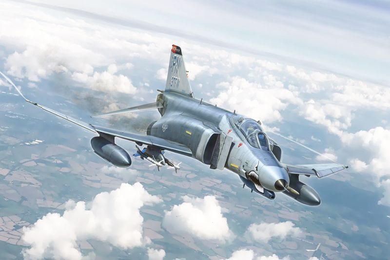 Italeri 1/72 McDonnell F-4E/F Phantom II