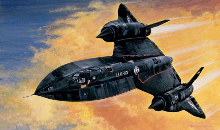 Italeri SR-71 Blackbird Aircraft Kit
